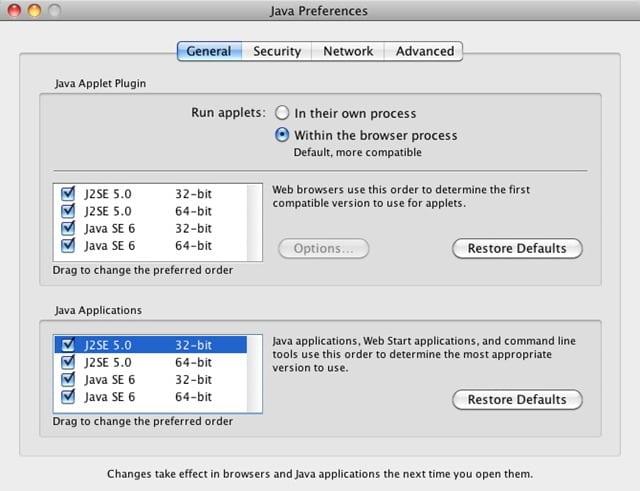 Java 1.6 Mac 10.4 Ppc