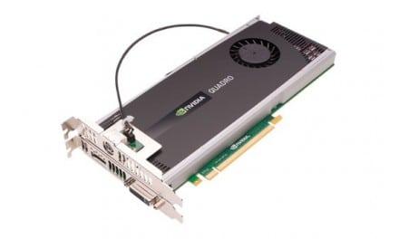 [Mac 노트] 256 CUDA Cores, Mac 용 Nvidia Quadro 4000 그래픽 카드