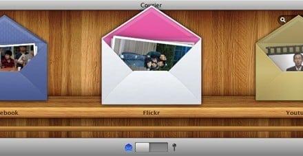 [Cool 노트] Courier (Mac OS X 용), 페이스북/유투브/Flickr/모바일미/FTP 서버 등에 동시 업로드 유틸