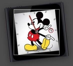 [Mac] 아이팟 나노의 미키 마우스 시계 대시보드에 추가하기