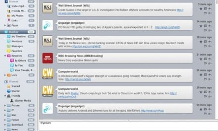 [Mac] Mac OS X 에서 SNS 사용하기, 트위터 앱 사용방법, 초보자 가이드