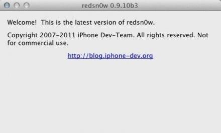 [iOS] iOS 완탈 업데이트 소식, Redsn0w 0.9.10b3