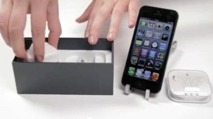 세계 최초 아이폰5 개봉 비디오