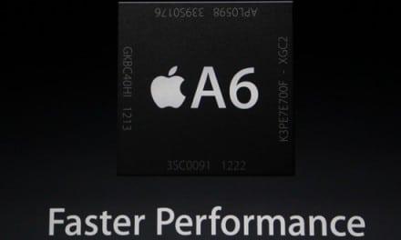 아이폰5의 A6 프로세서는 애플의 독자적인 커스텀 CPU, 삼성 1GB 램 내장