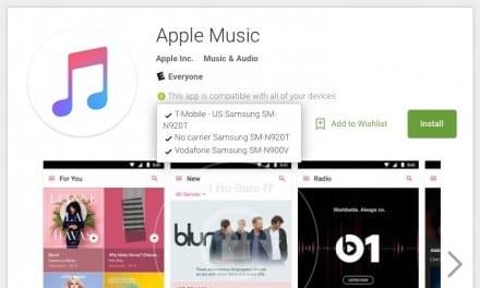 애플 MUSIC, 안드로이드 앱 출시