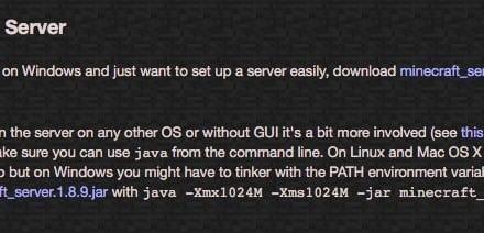 맥에서 마인크래프트 서버 설정하기