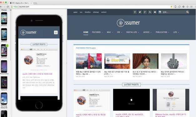웹 개발자용 브라우저, Blisk Mac 버전 배포