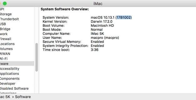 macOS 10.13 하이 시에라, root 계정 버그 공식 패치 배포